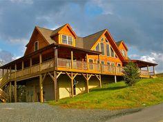 Jocassee Series Log Home Floor Plans   Blue Ridge Log Cabins