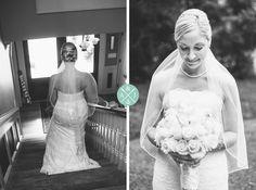 A BEAUTIFUL BRIDE, MINUTES BEFORE WALKING DOWN THE AISLE, AT A CHARMING PALMETTO LANDING WEDDING IN CHARLESTON, SOUTH CAROLINA » Aaron and Jillian Photography