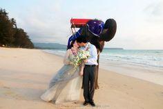 Phuket Beach Elephant Wedding Package : Lin + Hu | Thai Marriage Planner