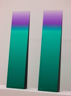 Tri-Color Gradient Window Wedge by Eric Cahan