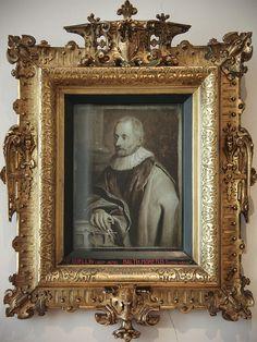 Ornate renaissance-era frame.