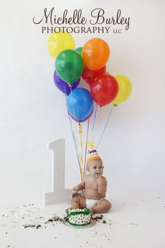 1 and balloons