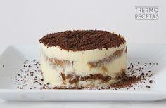 Tiramisú Thermomix Desserts, Tiramisu Cake, Sweet And Salty, Flan, Italian Recipes, Deserts, Sweets, The Originals, Cooking