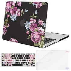 MacBook Pro Case Floral Spring Pattern MacBook Air 13 A1369//A1466 Plastic Case Keyboard Cover /& Screen Protector /& Keyboard Cleanin