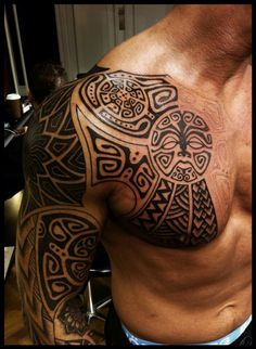 Polynesian tattoo - for my hubby!! :)