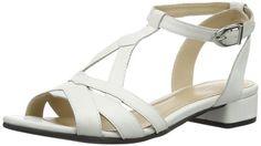 Vagabond Banksia - Sandalias de cuero para mujer, color blanco, negro o plata #Vagabond #Zapatos #Mujer #Sandalias