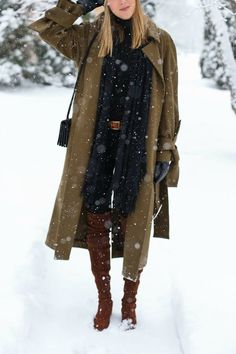 5 Slimming Winter Outfits to Keep You from Snowman Status via @PureWow