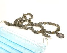 Labradorite Necklace & Lanyard Etsy Jewelry, Jewelry Crafts, Etsy Handmade, Handmade Jewelry, Homemade Face Masks, Ancient Symbols, Chakra Stones, Etsy Crafts, Vintage Gifts