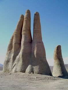 Hand of the Desert, Atacama, Chile