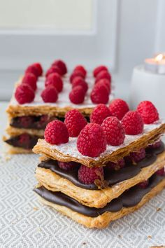 Thermomix Chocolate Millefeuille