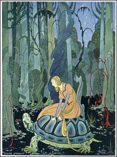 Old French Fairy Tales 1919. Ills. by Virginia Sterrett
