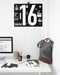 it's monday again and we're happy to see how @stylizimoblog is freshen up her home office with some of the @typehype_berlin items to get work done. also, get 10% discount using the voucher code 'stylizimo' on www.typehype.com. have an inspiring start of the week, friends!