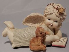 "Angel with Kitten Music Box ""When You Wish Upon a Star"" #Unbranded"
