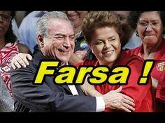 """FARSA NO """" IMPEACHMENT""""  ! """" DIVISÃO DE VOTOS """"  """" INCONSTITUCIONAL """""""