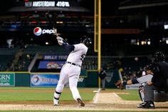 Game 11 - April 16, 2014 - Indians 3, Tigers 2.  Miguel Cabrera provides 2 RBIs on Detroit's first night game of the year. Detroit stands at 6-5.
