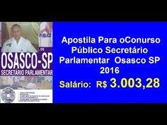 Apostila Conurso Público Secretário Parlamentar | Osasco SP 2016 |