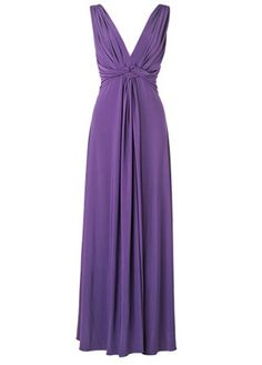 Phase Eight twist front maxi dress, £120