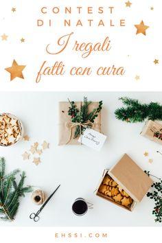 """Partecipa al contest di Natale, puoi vincere un albero! I regali di Natale sono un'occasione per comunicare il nostro affetto, la nostra cura e attenzione (anche verso i clienti e i follower!). Sono un'occasione per sostenere un lavoro o un progetto che ci piace e di cui condividiamo i valori <3 Salva questo pin! Partecipa al contest. Iscriviti alla bacheca """"Calendario dell'Avvento 2020"""" di @ehssidesign e pubblica il tuo pin."""
