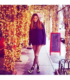 @Alex Leichtman M What Wear - Olivia Palermo                 Brought my cool Lanvin's out for Super Bowl  #superbowl2014    FOLLOW: @Olivia García García Palermo