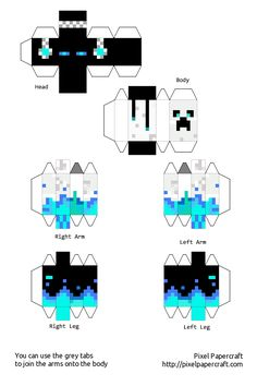 My skin in papercraft (easier)