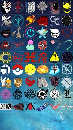 I recognize Soul Eater, OHSHC, Black Butler, Blue Exorcist, Fairy Tail, AOT, SAO, Pokemon, Death Note, Assassination Classroom. Add any more that you know to the list!