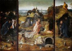 Триптих святых отшельников (Святые Антоний, Иероним и Эгидий). Иероним Босх