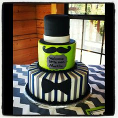 Little man baby shower cake! #LittleMan #BabyShower