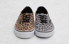 Latest information about Vans Authentic Leopard Pack. More information about Vans Authentic Leopard Pack shoes including release dates, prices and more. Leopard Print Vans, Leopard Sneakers, Cheetah, Vans Authentic Black, Vanz, Fashion Shoes, Fashion Outfits, Brown Leopard, Kinds Of Shoes