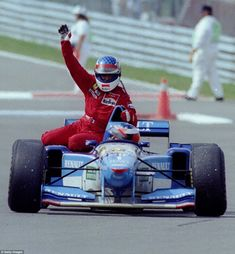 Jean Alesi   Michael Schumacher (Canada 1995) by F1-history on DeviantArt