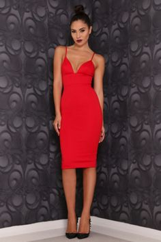 Abyss Liz dress (red) - Kourvosieur  - 1