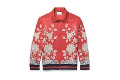 God Save the Queen and all: GUCCI Floral Jacket #gucci #jacket #floral