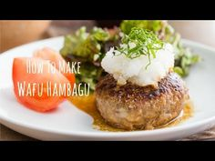 Wafu Hambagu (Japanese Hamburger Steak) | Beef Recipe | Just One ...