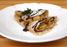 Jablkové palacinky, Sladké jedlá, recept | Naničmama.sk Pancakes, Breakfast, Ethnic Recipes, Sweet, 3, Lasagna, Morning Coffee, Candy, Pancake