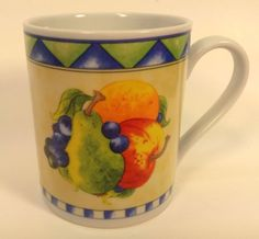American Atelier Fresh Pickins Mug Coffee Cup Fruit Replacement