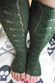 Knitted Yogasocks. Very comfortable.