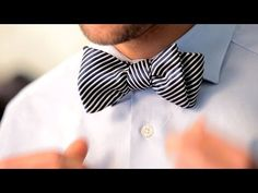 How to Tie a Bow Tie   Men's Fashion