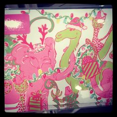 Adorable Lilly Christmas cards! #LillyHoliday