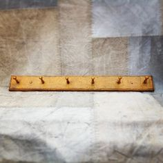 Orange Coat Rack. Shaker coat rack orange.  Size is made to order, please allow up to 3 weeks for delivery.  http://www.themintlist.com/product/orange-coat-rack