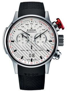 Edox Chronorally Big Date Chronograph 38001 TIN AIN