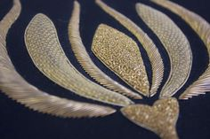 Learn the couture embellishment technique of goldwork with world-renown experts, Hand and Lock. Fashion houses such as Louis Vuitton and royalty from across to the world turn to this 250-year-old company for their expertise in goldwork embroidery.