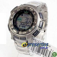 PRG-250T-7DR Relógio Casio Protrek Triplo Sensor Alti-Baro-Termometro