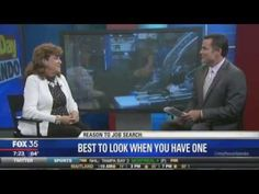 Dr. Mimi Speaks on Looking for a Job When You're Employed on Fox 35 News.