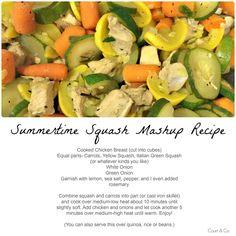Court & Co. { Summertime Squash Mashup Recipe } #summer #squash #mashup #recipe   http://court-and-company.blogspot.com/2015/06/summertime-squash-mashup-recipe.html   #courtandcompany #lifestyleblog