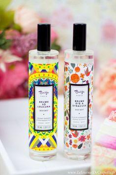 brumes parfumees Baija cosmetique / Baija cosmetics
