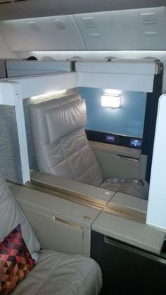 First Class with Etihad...