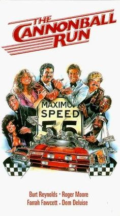 Cannonball Run - 1981 | A wide variety of eccentric competitors participate in a wild and illegal cross-country car race. Film Movie, 80s Movies, Comedy Movies, Movies To Watch, Great Movies, Awesome Movies, Movies And Tv Shows, Movies Showing, Hal Needham