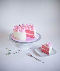 Pink-tastic Birthday Cake