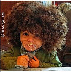Gorgeous natural kids hair #teamnatural