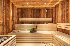Rustic Saunas, Bio Sauna, Sauna Design, Pool Spa, Stairs, Bathroom, Modern, Home Decor, Gardens