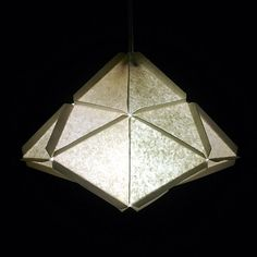 5 Easy to make awesome modular geometric lamps made of paper.